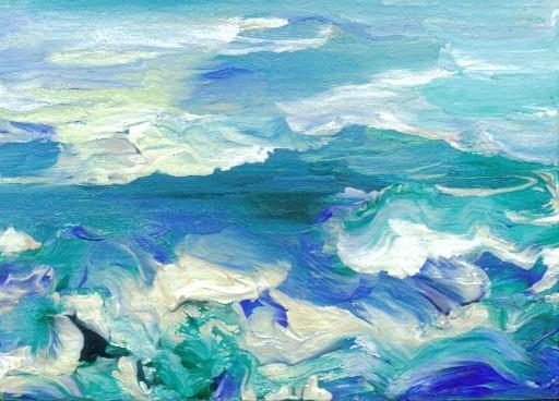 The Sea At My Feet - Cricket Diane C Phillips - Cricket House Studios -2008