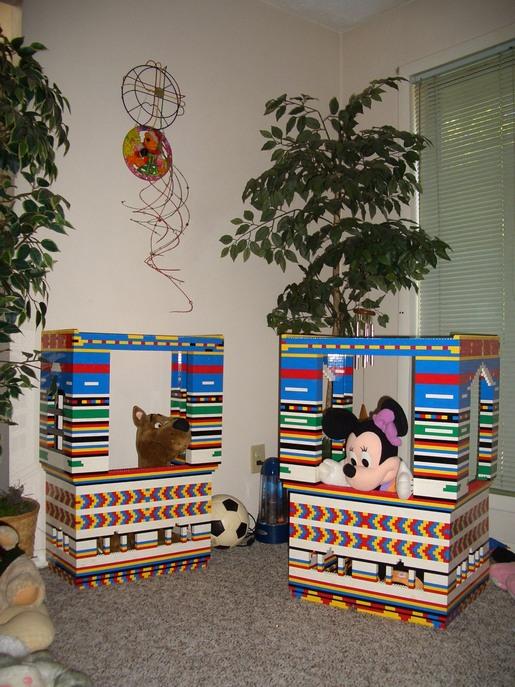 cricketdiane - Lego playhouse built Christmas 2008