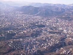 L'Aquila aerial photo (before earthquake) from wikipedia