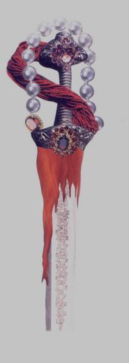 cricketdiane - fantasy sword hilt design by Cricket Diane C Phillips 2004, 1997 - by collage