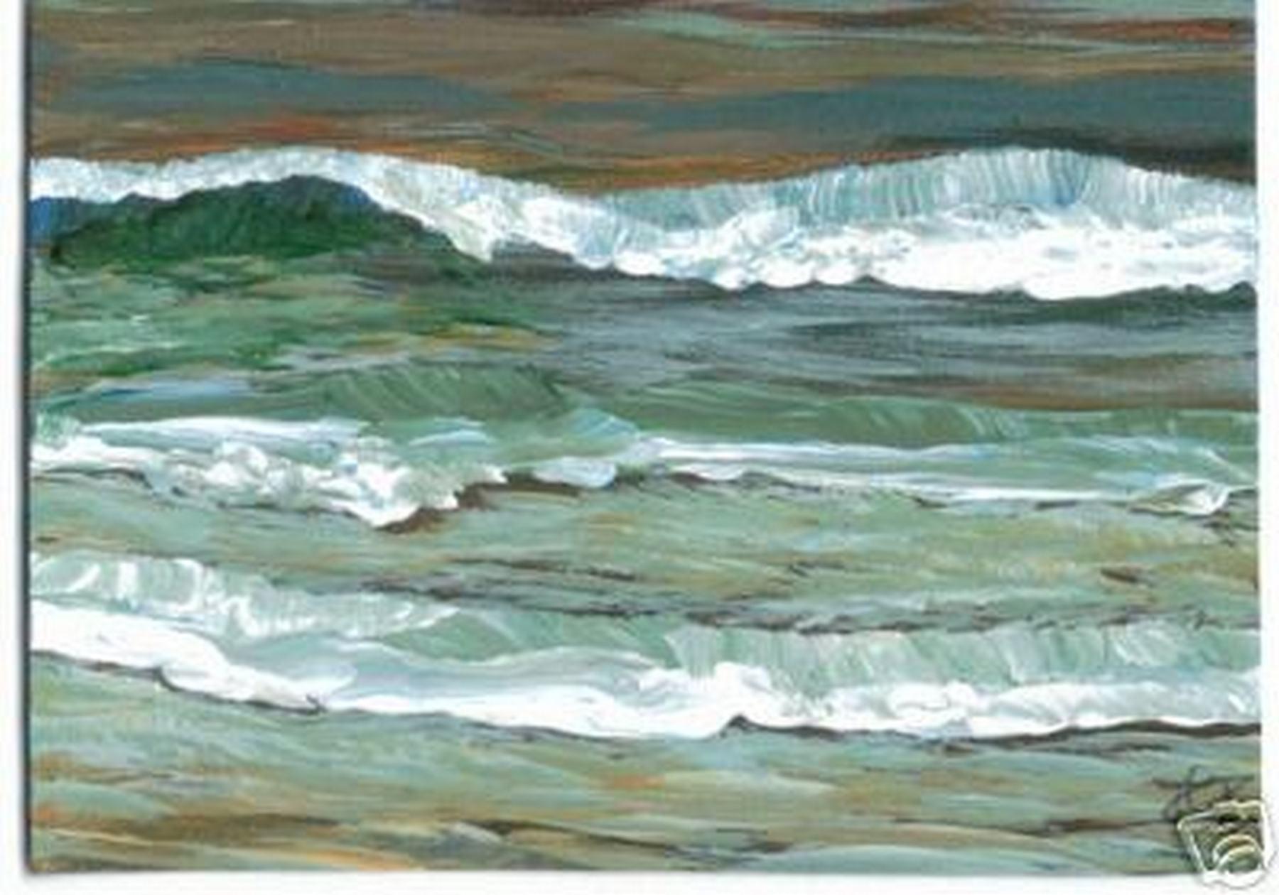 Cricketdiane art ocean paintings paintings designs for Acrylic mural paint