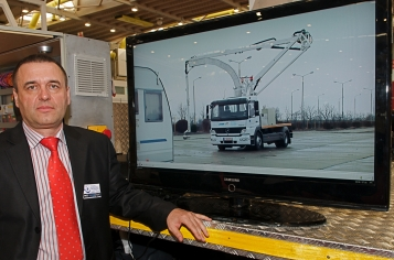 2009 Grand Prix Award Winner - the Romanian company MBTechnology, for its vehicle baptised ROBOSCAN