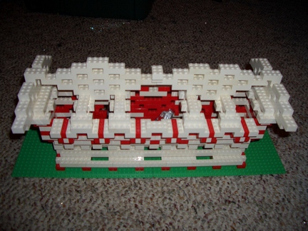 cricketdiane - Lego cannon bay created by Cricket Diane C Phillips - 2008 - project back