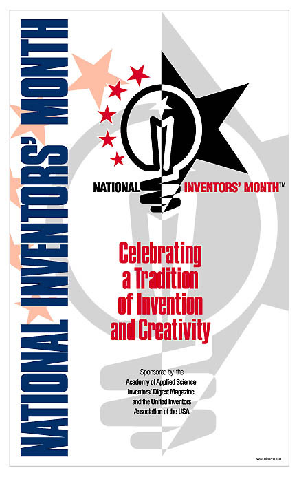 National Inventors Month Poster