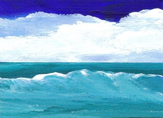 2-26-08 cricketdiane - Wave Coming Into Shore - cdcp08 acrylic-mat -1