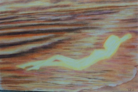 cricketdiane08 - Serenity - 2008 - 1991 - original arting done by my own hand - with pastels from my mind's eye