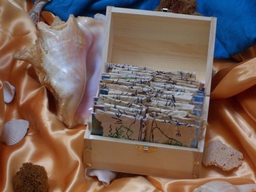 cricketdiane - July 2009 Private Treasure - Stolen Art Cards - Baby Crickets Pocket Art and Treasure Maps - Cricket House Studios Art