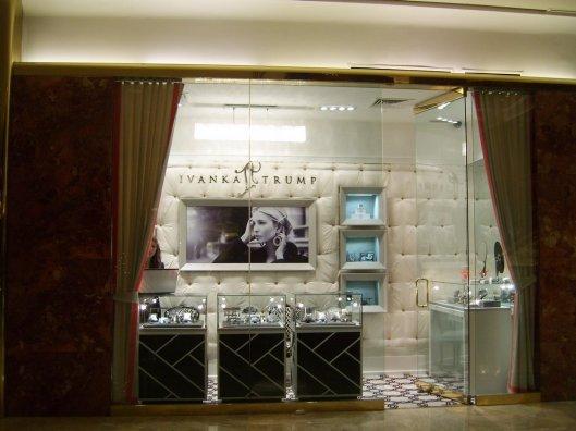 Ivanka Trump jewelry showcase - elegant and absolutely brilliant - CricketDiane Photo Walking Tour New York City 2010