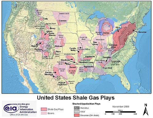 500px-Shaleusa2 - Energy Information Administration DOE - Shale Gas Plays in the US - Nov 2008