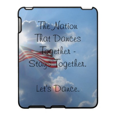 Let's Dance - cricketdiane iPad cover art - The Nation That Dances Together - Stays Together