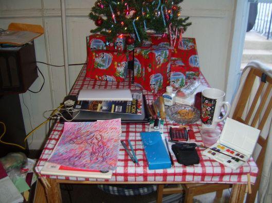 Dec 12-13 2011 Ribbon Animal Art and Cats - nyc 005-2 - CricketDiane 2011
