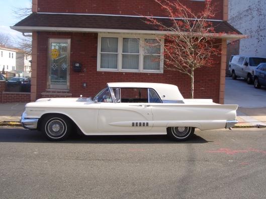 1958 White Thunderbird - Staten Island, NYC