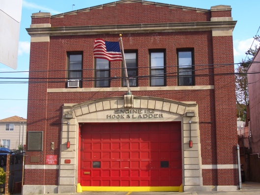 CIMG0013 - cricketdiane American Flag on Fire Station House Staten Island NYC