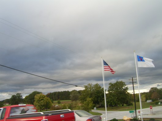 farm4 - 10-19-11 251 cricketdiane - American Flag and Christian Flag NC