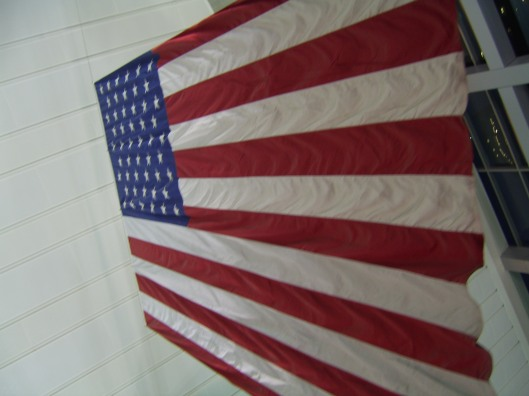 American Flag at Staten Island Ferry Terminal cricketdiane photography 2011