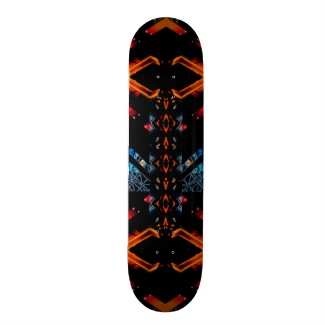New CricketDiane Skateboard Extreme Design Flame Board