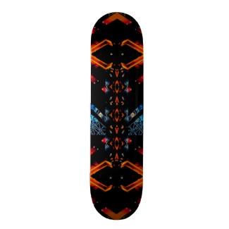 New CricketDiane Skateboard Extreme Design Flame Board