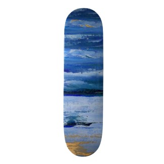 IP Under the Sea Skateboard Extreme Skateboard Deck Design by CricketDiane