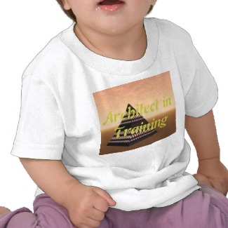 Architect in Training Kids Tshirt by CricketDiane