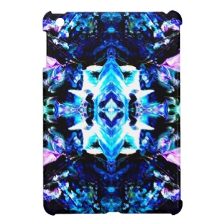 Blue Magic Purple Blue Turquoise Pretty Design Cover For The iPad Mini CricketDiane Art and Design