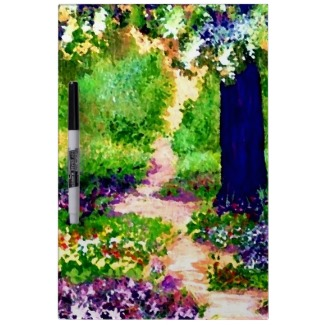 Celebration Sunny Flower Garden Art Note and Message Board by CricketDiane 2013
