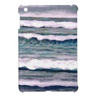 Cloudy Day ocean waves beach surf by cricketdiane on ipad mini case