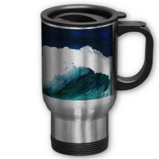 Dream Wave by cricketdiane commuter coffee mug