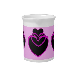 Funky Purple Hearts Valentines Day Design by CricketDiane 2013