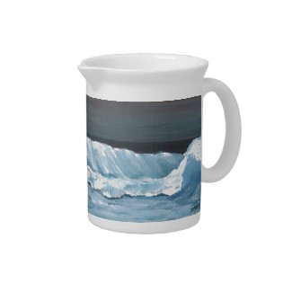 Ocean Dreams Kitchen Giftware Pitcher by CricketDiane