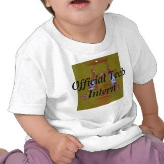 Official Tech Intern Kids Tshirt - CricketDiane Designer Stuff