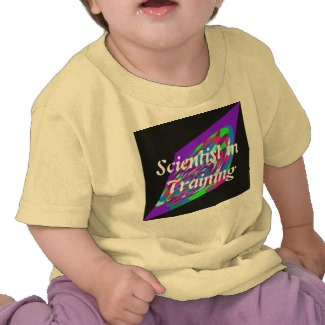 Scientist in Training Toddler Tee by CricketDiane