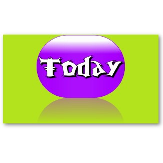 Today Card Adaptive Living Tools Visual Identifiers and Communication Tools by CricketDiane 2013