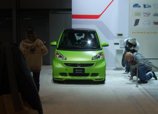 Smart Car NYC Intl Auto Show 2013 CricketDiane