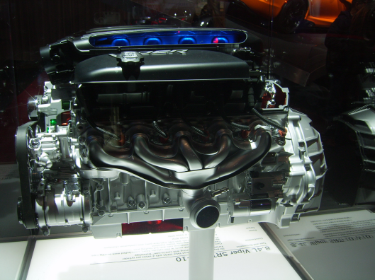 Viper Engine Display 2 NYC Intnl Auto Show 2013 CricketDiane