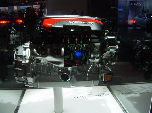 Viper Engine Display3 NYC Intnl Auto Show 2013 CricketDiane