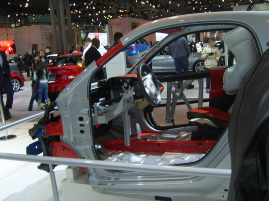 What is under those panels in a car - NYC Intl Auto Show 2013 CricketDiane Photos