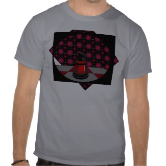 chess_red_knight_chessboard_red_grey_tshirt