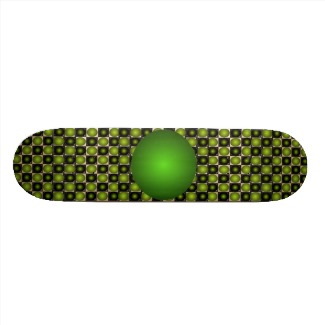 green bump skateboard cricketdiane design 2013