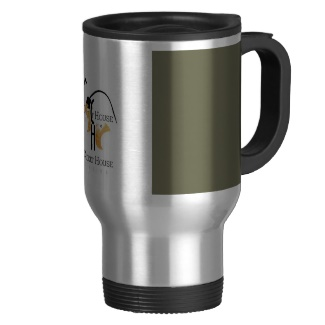 French Grey - Army Green Color Only Commuter Cup with Cricket House Logos applied to it
