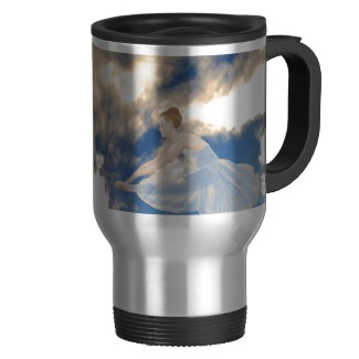 Ballerinas in the Sky Commuter Coffee Mug - CricketDiane Art and Design 2013
