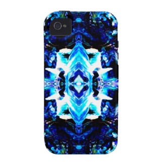 Blue Magic Purple Blue Turquoise Pretty Designer Phone Case by CricketDiane
