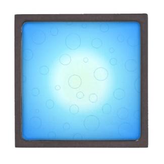 Blue Sun Design Jewelry Box by CricketDiane 2013