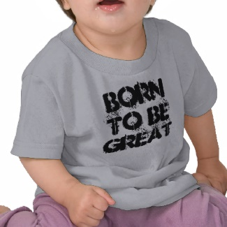 Born to be Great - Toddler Inventor Children Science Tshirt by CricketDiane 2013