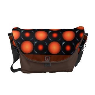 Brown Black Coffee 3D Design Messenger Computer Laptop Bag / Handbag by CricketDiane 2013