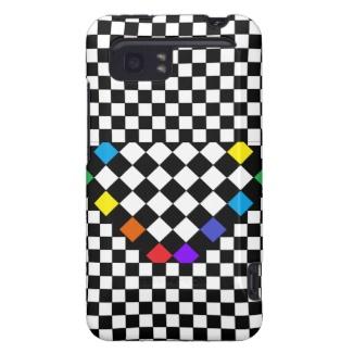 Checkerboard Rainbow HTC Vivid Raider 4G Case by CricketDiane 2013