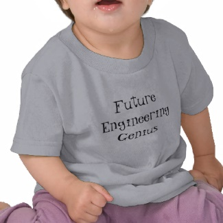 Future Engineering Genius Toddler Children Tshirt by CricketDiane 2013