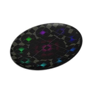 Futuristic Futurism 3D Design Colorful Balls Universe Space Plate 50 by CricketDiane 2013