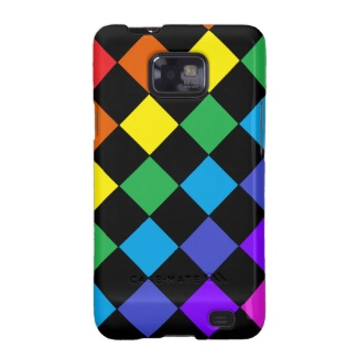 Gay Pride Rainbow Gifts Chessboard Phone Case by CricketDiane 2013