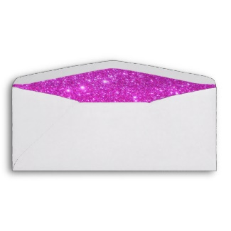Hot pink Sparkle Glittery Envelopes by CricketDiane Art and Design 2013