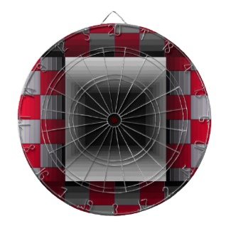 Illusion Dartboard Science Geek Toys by CricketDiane Art and Design 2013